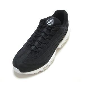 sports shoes 03aa6 7cbbc NIKE AIR MAX 95/STUSSY BLACK/BLACK-WHITE ナイキ エアマックス 95 ステューシー コラボ ブラック/ホワイト  黒白 )