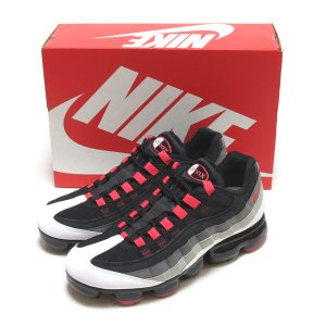 NIKE AIR VAPORMAX 95 WHITE/HOT RED-DK PEWTER ( ナイキ...