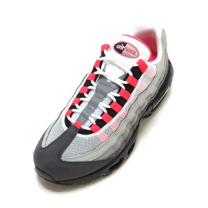 NIKE AIR MAX 95 OG WHITE/SOLAR RED-GRANITE-DUST AT...