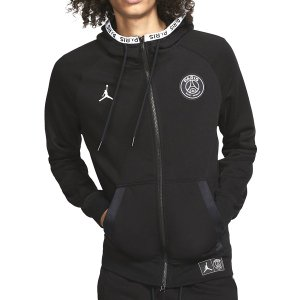 AIR JORDAN PARIS SAINT-GERMAIN FULL ZIP FLEECE BLA...