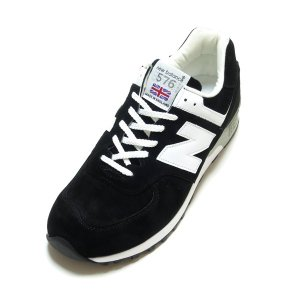 NEW BALANCE M576KGS BLACK/WHITE SUEDE MADE IN ENGL...