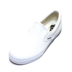 9ff7fe61207 レディースサイズ バンズ クラシック スリッポン 白 (VANS SLIP-ON T.WHITE TRUE WHITE ...
