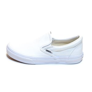 399cb5f6c2a ... レディースサイズ バンズ クラシック スリッポン 白 (VANS SLIP-ON T.WHITE TRUE WHITE ...