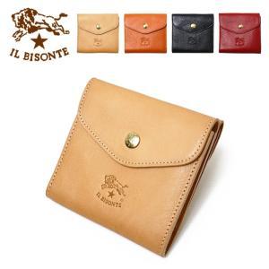 イルビゾンテの定番の2つ折り財布です。   【素 材】革  【サイズ】約 縦11x横11×マチ2.5...