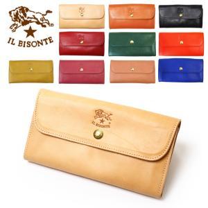 イルビゾンテからシンプルで使いやすい長財布が入荷。 こちらの商品は、入荷時期によってロゴのサイズに差...