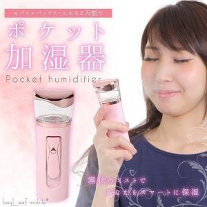 補水美容器 スプレー 携帯ミスト美顔器 ミニ補水美顔器 ナノ...