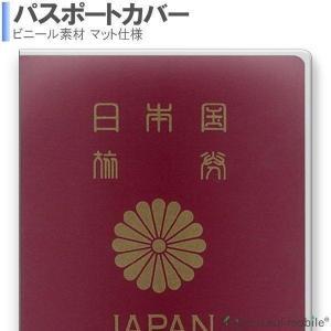 透明パスポートカバー 透明パスポートケース 保護 カバー 海外旅行 旅行用品 マット仕様 トラベルグ...