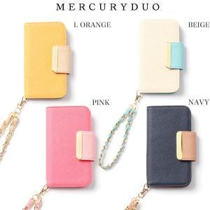 MERCURYDUO マーキュリーデュオ 通販 バイカラーiPhoneケース(7.8Ver)ipho...