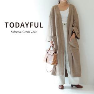 LIFE's【ライフズ】 TODAYFUL【トゥデイフル】 Softwool Gown Coat ソ...