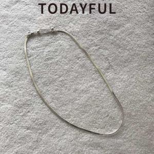 (10月下旬入荷予約)TODAYFUL トゥデイフル  ネックレス 通販 Silver925 Snakechain Necklace スネークチェーンネックレス 11820986(代金引換不可) 送料無料
