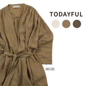LIFE's (ライフズ) TODAYFUL (トゥデイフル) Linen Gather Gown ...
