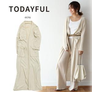 LIFE's(ライフズ) TODAYFUL(トゥデイフル) Silk Knit Cardigan シ...