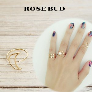 SALE40%OFF ROSE BUD ローズバッド AIM ムーンモチーフリング 指輪5号サイズ 135984