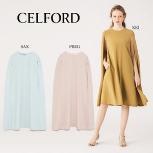 CELFORD  セルフォード マント風ワンピース  ■素 材■ 表地:ポリエステル100% 裏地:...