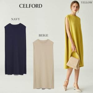 CELFORD  セルフォード ケープ風ニットワンピース  ■素 材■ レーヨン 63% ナイロン ...