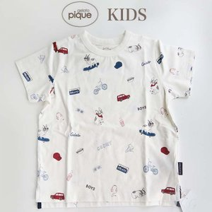 gelato pique【ジェラートピケ】 ボーイズモチーフ kids Tシャツ  ■素 材■ 本体...