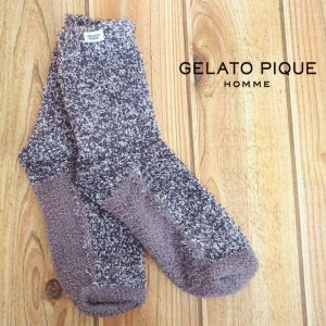 SALE20%OFF ジェラートピケ gelato pique 【GELATO PIQUE HOMME】moco moco バンブー  ソックス pmgs161902
