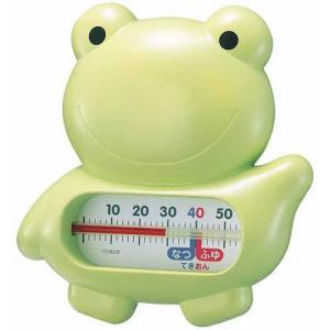 EMPEX 浮型 湯温計 うきうきトリオ カエル TG-5146 グリーン