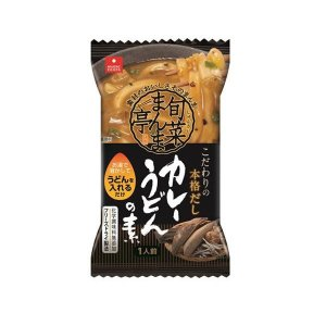 アスザックフーズ フリーズドライ 旬菜まんま亭 カレーうどんの素 30食(5食×6箱)