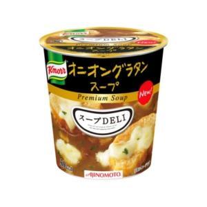 〔まとめ買い〕味の素 クノール スープDELI オニオングラタンスープ 14.5g×18カップ(6カップ×3ケース)|selectshopsig