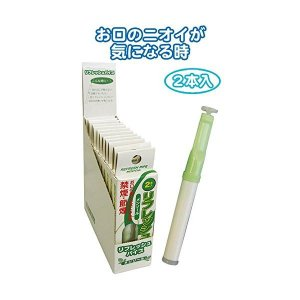 禁煙パイプ 増量リフレッシュパイプ2本入(メンソール) 〔12個セット〕 29-312|selectshopsig