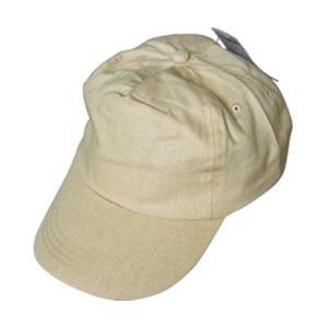 サイズ調整可能コットン帽子前立メッシュ付(ベージュ) 45-801 〔12個セット〕|selectshopsig