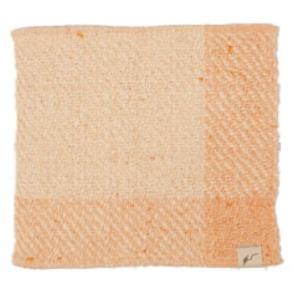 fuwa・fuwanoハンカチ 橙色|selectshopsig