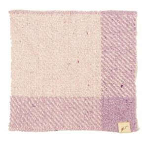 fuwa・fuwanoハンカチ 花紫|selectshopsig