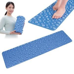 健康足ふみデコマット/足ツボマット 〔幅32cm×長さ120cm〕 洗える 軽量 コンパクト収納|selectshopsig