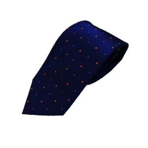 定番水玉コレクション ブルー&オレンジ・パープル 大剣幅約8.0cm|selectshopsig
