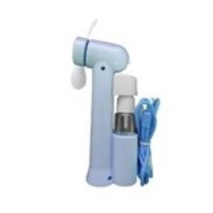 ミストスプレーファン ミスト機能付きハンディ扇風機 カラー:ブルー|selectshopsig