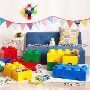 〔LEGO (R) レゴ〕 収納ボックス 〔ブライトレッド〕 引出しタイプ ワイドタイプ 『ブリックドロワー8/ブリックドロワー4』|selectshopsig
