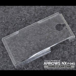 ARROWS NX F-04G ケース ハードクリアケース ハードケース カバー アローズ スマート...