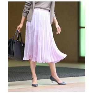 ROPE' / ロペ サテンプリーツスカート|selectsquare