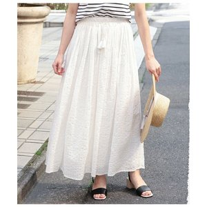 ROPE' / ロペ インド綿レースロングスカート|selectsquare