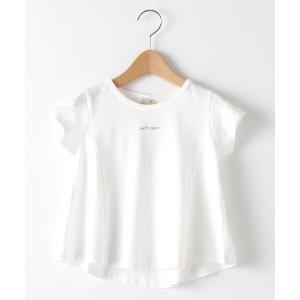 petit main / プティマイン バリュー袖フリルTシャツ selectsquare