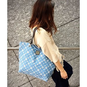 Daily russet / デイリーラシット DENIMトートバッグ(M)/TOTEBAG