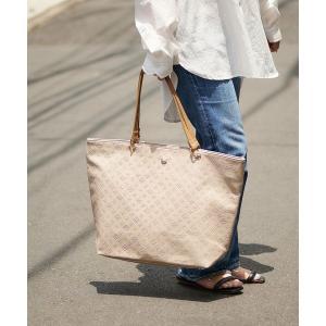 Daily russet / デイリーラシット 型押しハトメトートバッグ(L)|タカシマヤファッションスクエア