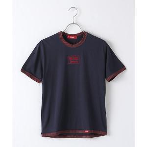 PINK HOUSE / ピンクハウス フロッキーロゴプリントTシャツ|selectsquare