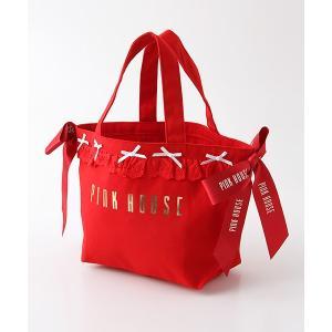 PINK HOUSE / ピンクハウス 【オンライン先行販売】フリルリボントートバッグ|selectsquare