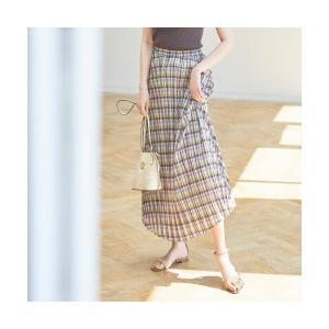 aquagirl / アクアガール チェックプリーツスカート|selectsquare