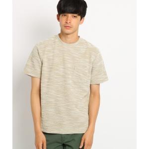 BASE STATION / ベースステーション Tシャツ メンズ YZ スラブジャガード selectsquare