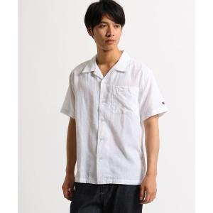 BASE STATION / ベースステーション オープンカラーシャツ 綿麻シャンブレー WEB限定 selectsquare