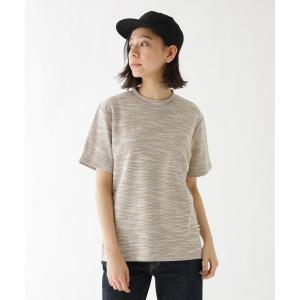 BASE STATION / ベースステーション Tシャツ YZ スラブジャガード selectsquare