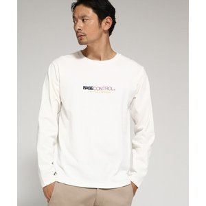 BASE STATION / ベースステーション ロンT Tシャツ ロゴ ブランドロゴ 胸刺繍 selectsquare