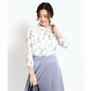 Reflect / リフレクト 【WEB限定カラーあり】シャツ襟フラワーブラウス|タカシマヤファッションスクエア