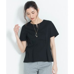 L size ONWARD(大きいサイズ) / エルサイズオンワード 【洗える】DOUBLE CLOTH JERSEY カットソー|selectsquare