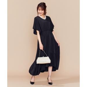 L size ONWARD(大きいサイズ) / エルサイズオンワード 【PRIER】ロングリゾートワンピース ドレス|selectsquare