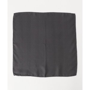 gotairiku / ゴタイリク イタリア製 シルクチーフ 小紋柄|selectsquare