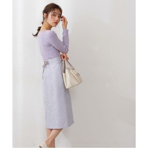 PROPORTION BODY DRESSING / プロポーションボディドレッシング  ニュアンスジャガードタイトスカート|タカシマヤファッションスクエア
